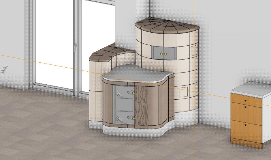 Aufbau Kamin Ofen heizen Öko Wärmehaus in Helmstedt